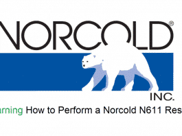 norcold n611 reset