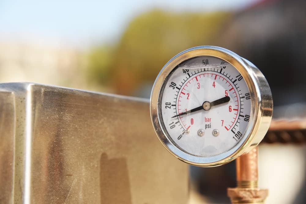 freightliner air pressure gauge problem