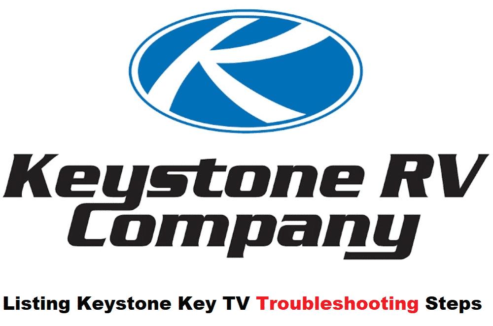 keystone key tv troubleshooting